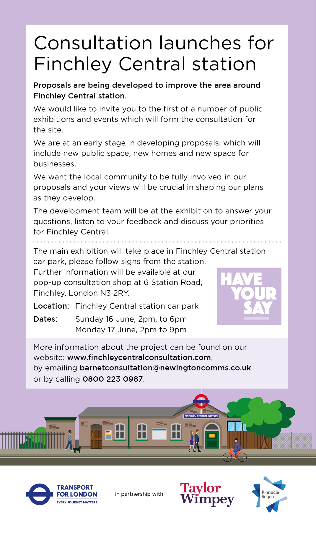 finchley central leaflet